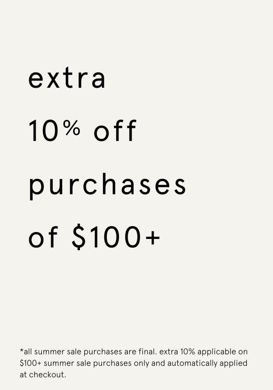 additional 10% off